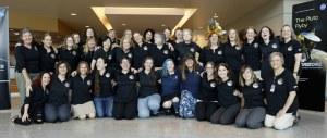 El equipo de mujeres de New Horizons. Crédito: SwRI/JHUAPL