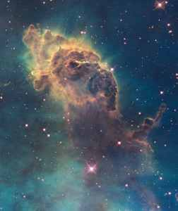 Una parte de la Nebulosa de la Quilla. Crédito: NASA, ESA, y el equipo Hubble SM4 ERO