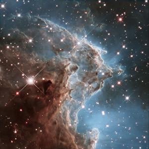 La Nebulosa NGC 2174 es una nebulosa de emisión. Crédito: ESA/Hubble