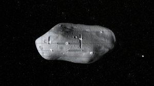 """La empresa """"Planetary Resources"""" planea enviar naves robóticas para extraer minerales de los asteroides cercanos a la Tierra, como ilustra este concepto artístico. Crédito: Planetary Resources."""