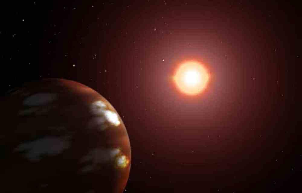 Descubren un planeta rocoso alrededor de una estrella con poco metal