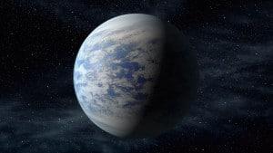 Recreación artística de Kepler-69c. Crédito: NASA Ames/JPL-Caltech