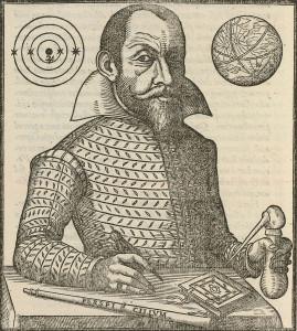 Retrato del astrónomo alemán Simon Marius