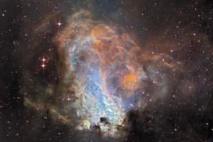 A falta de una cuarta dimensión que poder mostrar, esta es la Nebulosa Omega, también catalogada como Messier 17. Crédito: Ignacio de la Cueva Torregrosa