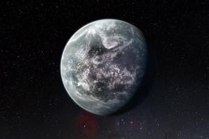 Concepto artístico del exoplaneta rocoso HD 85512 b. Crédito: NASA