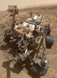 El rover Curiosity. Crédito: NASA