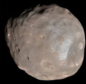 Fobos. Crédito: NASA / JPL-Caltech / University of Arizona