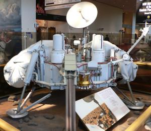 La nave Viking 1, que se posó en Marte. Crédito: Mark Pelligrino/Wikipedia
