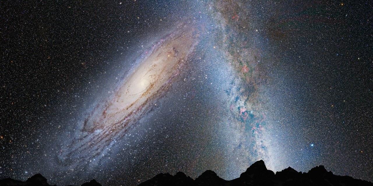 El choque entre la Vía Láctea y Andrómeda se retrasa