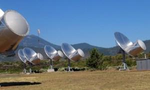 Imagen del Telescopio Allen. Crédito: SETI
