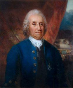 Retrato de Emanuel Swedenborg, por Carl Frederik von Breda.