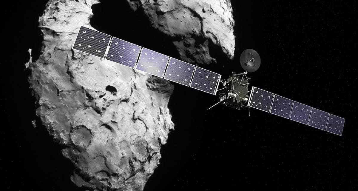 El cometa 67P tiene los ingredientes de la vida