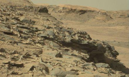Marte podría estar cubierto de materiales orgánicos