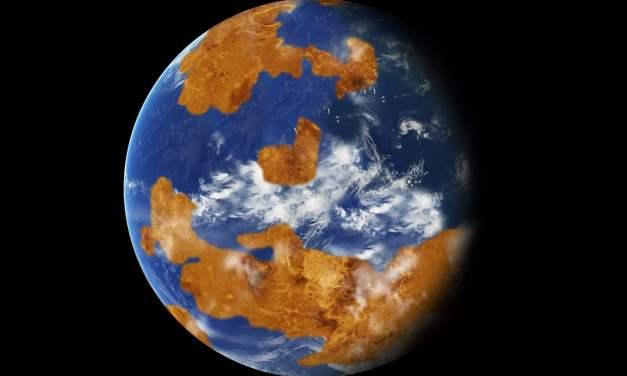 Un océano pudo ralentizar  Venus y cambiar su rotación