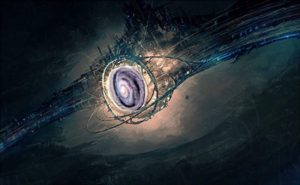 Una civilización de nivel III en la escala de Kardashov podría utilizar la energía de toda una galaxia. Crédito: Medium.com