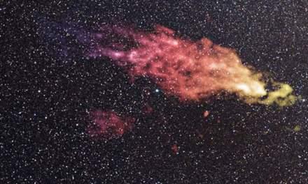 La nube de Smith y su choque con la Vía Láctea