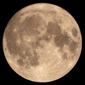 Imagen de la superluna del 14 de noviembre de 2016. Crédito: Wikimedia Commons/Tom Ruen
