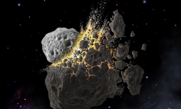 Los fragmentos de una vieja colisión todavía están cayendo sobre la Tierra