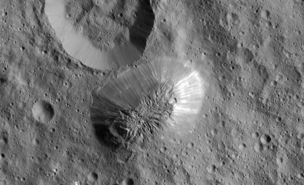 Los volcanes de hielo de Ceres
