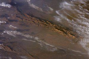 Desierto de Lut visto desde el espacio