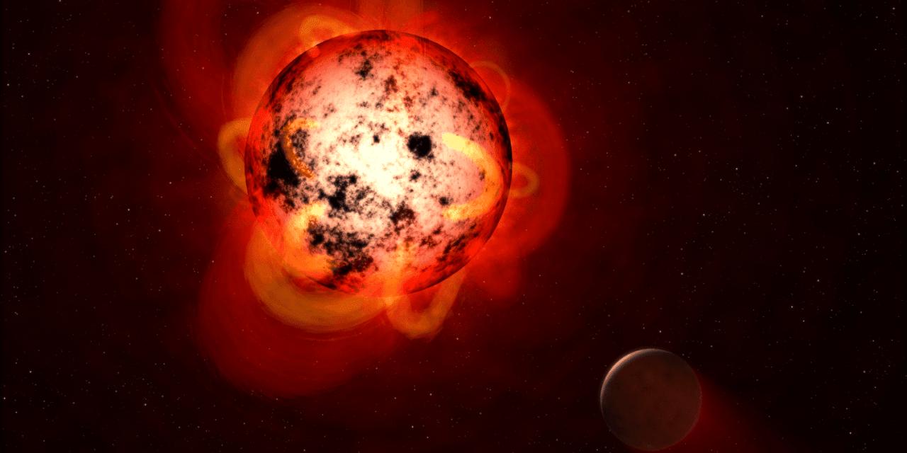 Las mini-llamaradas dificultan la habitabilidad de planetas alrededor de enanas rojas