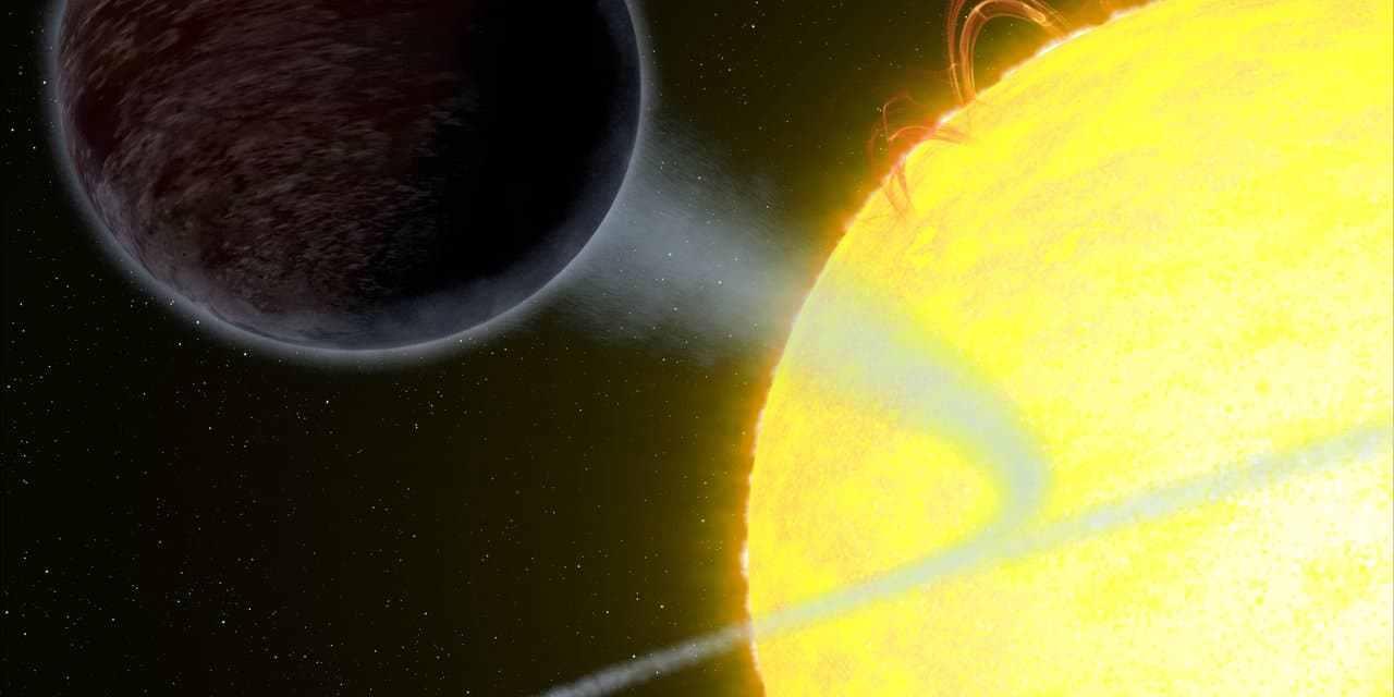WASP-12b, un planeta tan negro como el asfalto