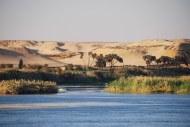 El río Nilo a su paso por Egipto.