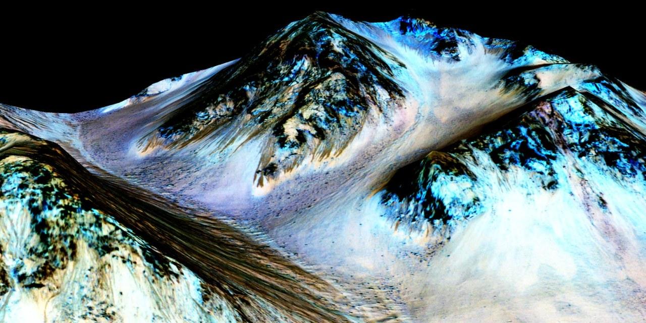 Marte tiene corrientes de arena, no de agua salada