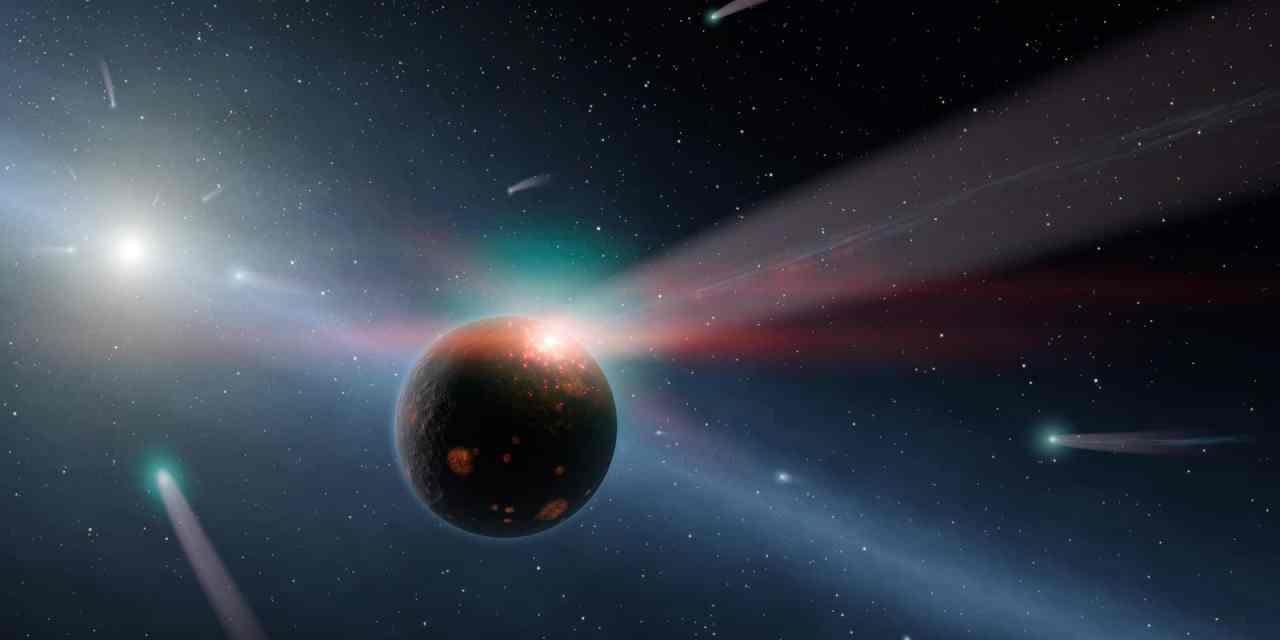 La vida pudo esparcirse desde la Tierra a la galaxia