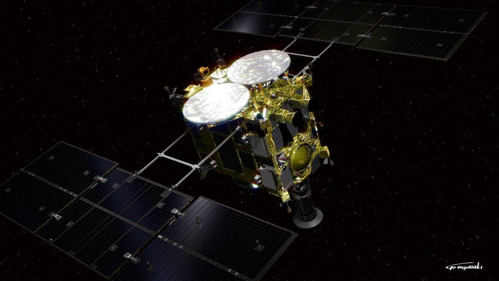 Hayabusa2 ha aterrizado en el asteroide Ryugu