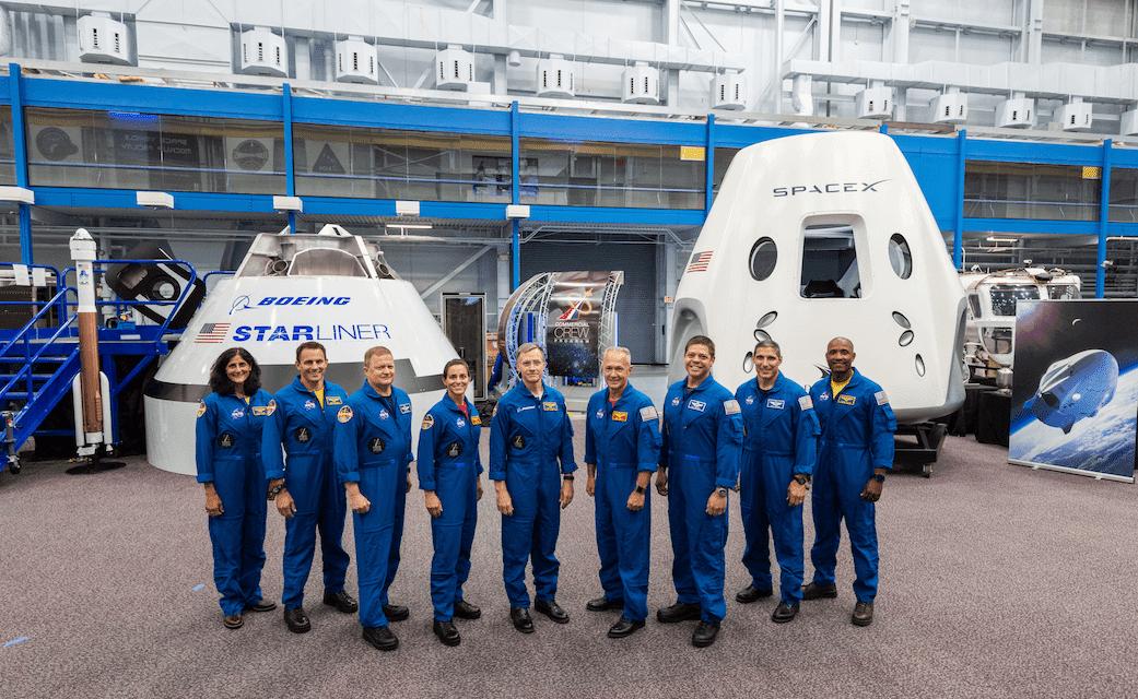 La NASA presenta las primeras tripulaciones de SpaceX y Boeing