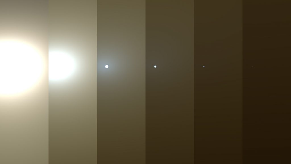 El agua de Marte pudo desaparecer por sus tormentas