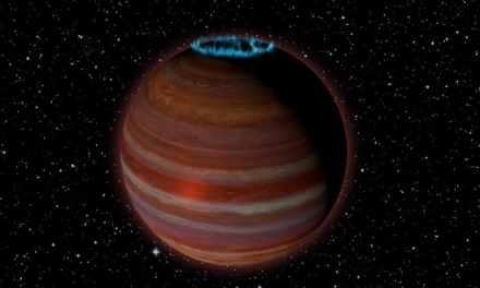 Descubren un objeto extrasolar con un potente campo magnético