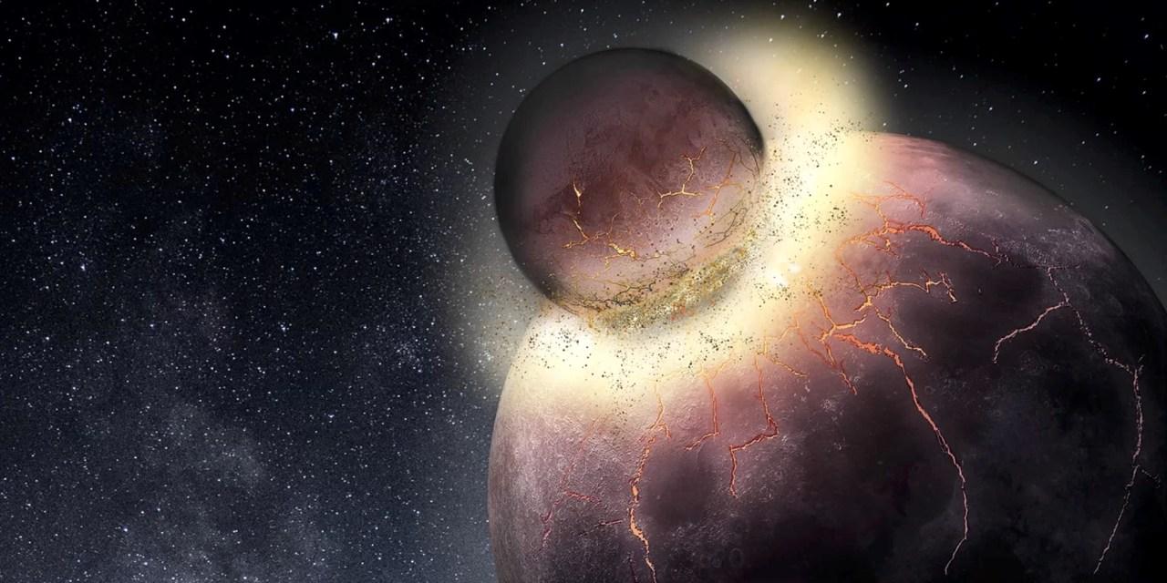 La formación de la Luna pudo permitir la aparición de vida