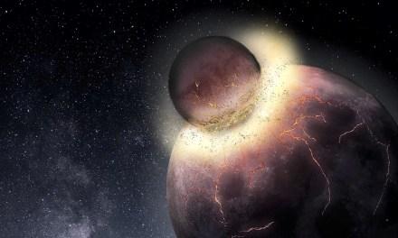 Un planeta enano pudo chocar con la Luna en el pasado