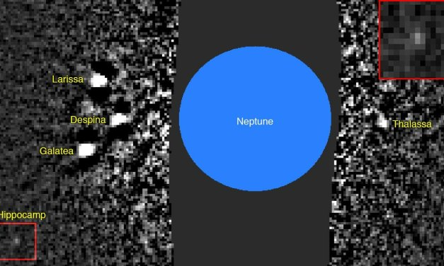 Hippocamp, una nueva luna en el Sistema Solar