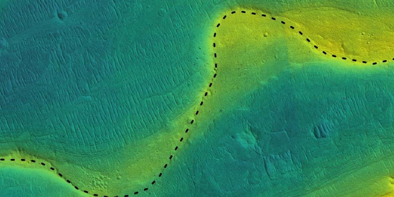 Marte tuvo grandes ríos incluso tras perder su atmósfera