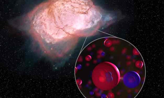Hidruro de helio: detectan la primera molécula del cosmos