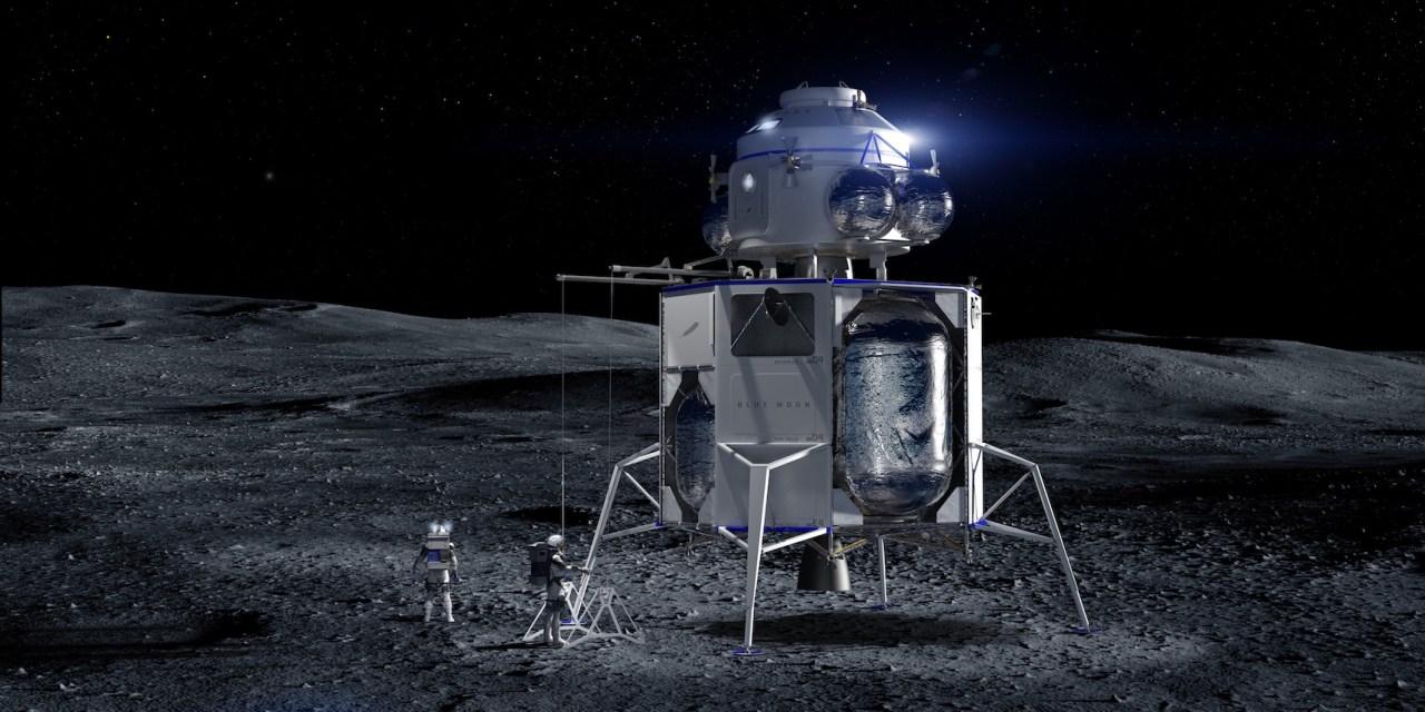 Blue Origin llevará seres humanos a la Luna en 2024