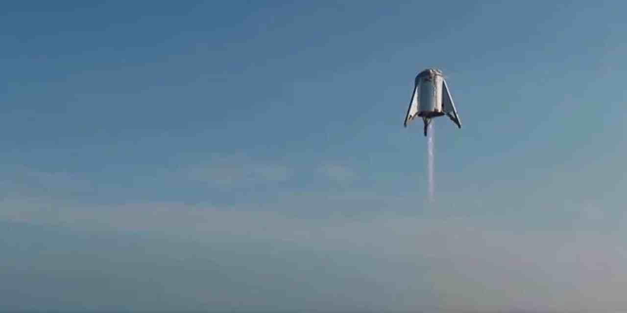 SpaceX completa otra prueba con Starship Hopper