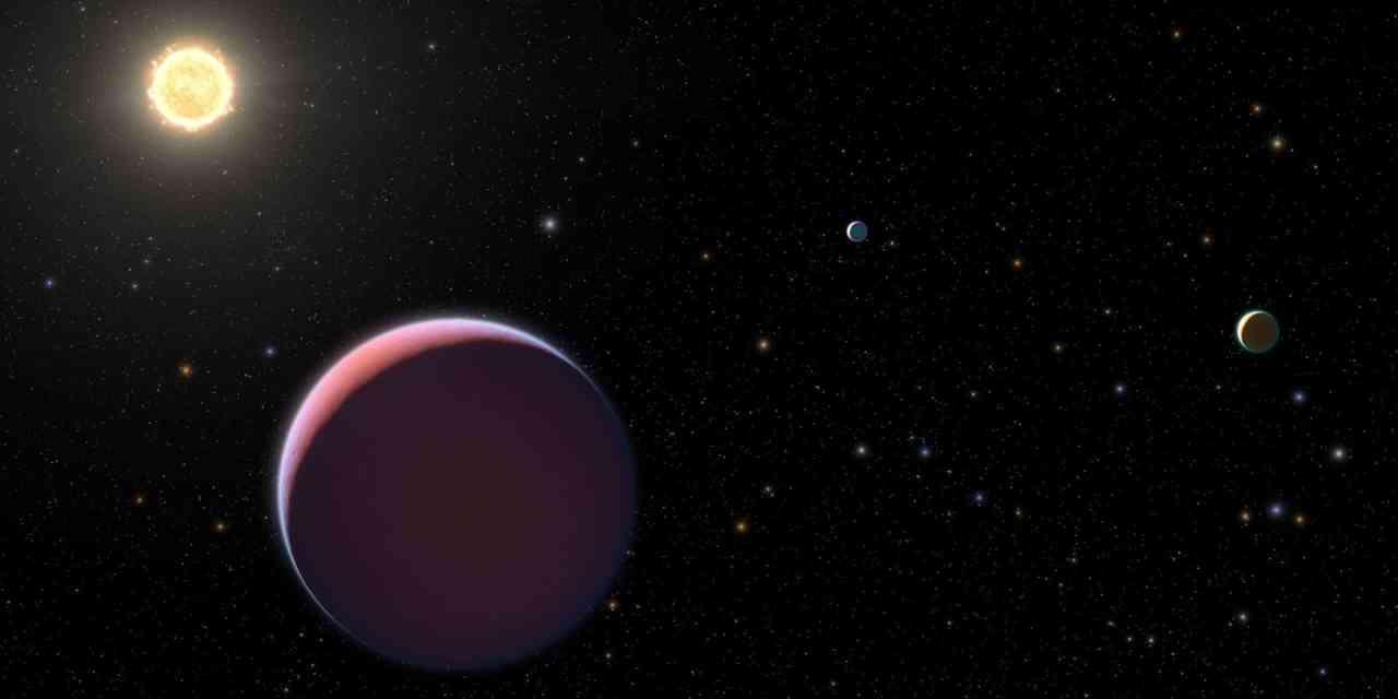 Detectan planetas como el algodón de azúcar