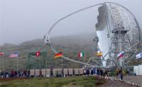 De MAGIC telescoop op La palma