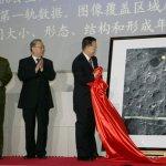 China's eerste maanfoto gepubliceerd