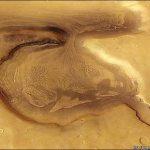 Actieve gletsjer op Mars ontdekt?