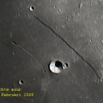 Rupes Recta op de Maan
