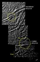 Bronnen van geisers op Enceladus