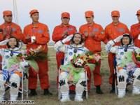 De Shenzhou 7 is geland