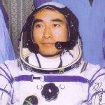 Luchtmachtpiloot 1e Chinese ruimtewandelaar