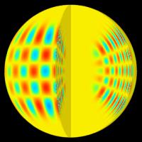 Model van zonbevingen