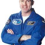 André Kuipers uiterlijk in 2011 de ruimte in